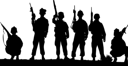 armed-forces-silhouette-clip-art-at-clker-com-vector-clip-art-online-6bhsnl-clipart