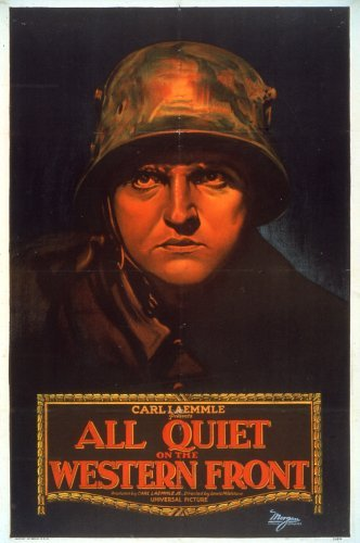 """""""All Quiet on the Western Front"""" Poster 1930 Universal **I.V."""
