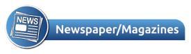 newspaper and magazines header
