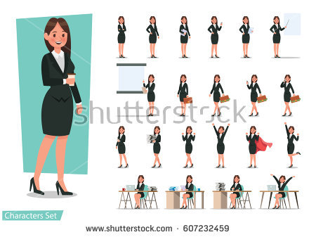 stock-vector-set-of-business-woman-character-design-607232459.jpg